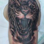 тату леопард